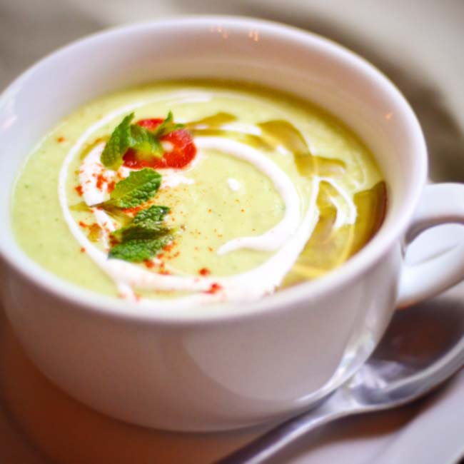 Tomatillo Gazpacho - Food Made By Tom
